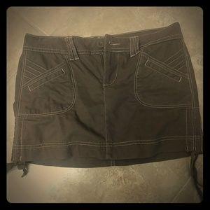 L.e.i. brand corduroy mini skirt
